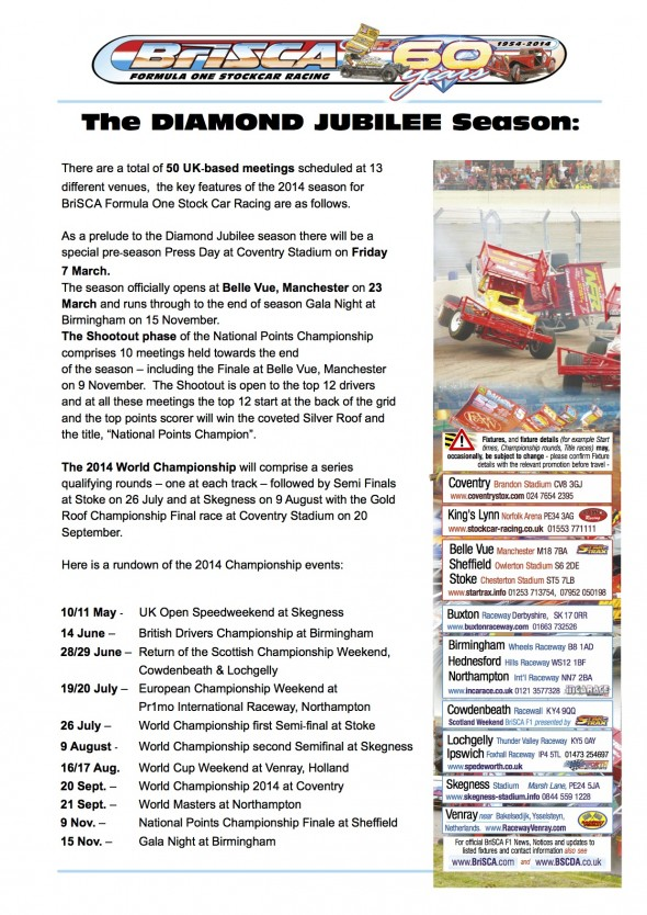 BriSCA Diamond Jubilee Press Release 3