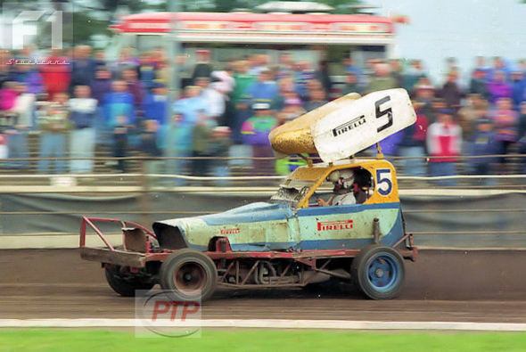 The one and only John Goodhall at Coventry in 1992.
