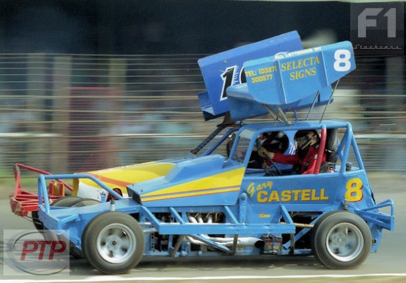 Gary Castell at Northampton in 1989.