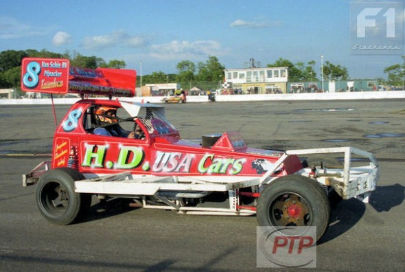 Martin Verhoef at Northampton, 2001.