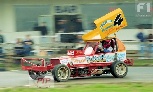 Dan Harter at Skegness in 1993.