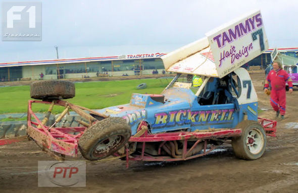 Phil Bicknell at Skegness in 2000.