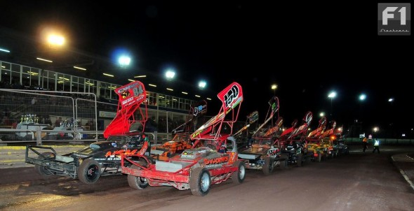 The line up for the Coventry Track Championship
